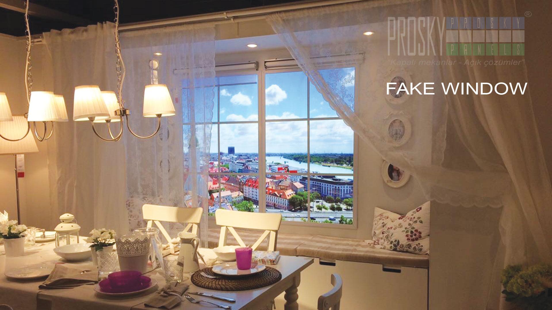Sky Panels Fake Window Luminous Virtual Window Led