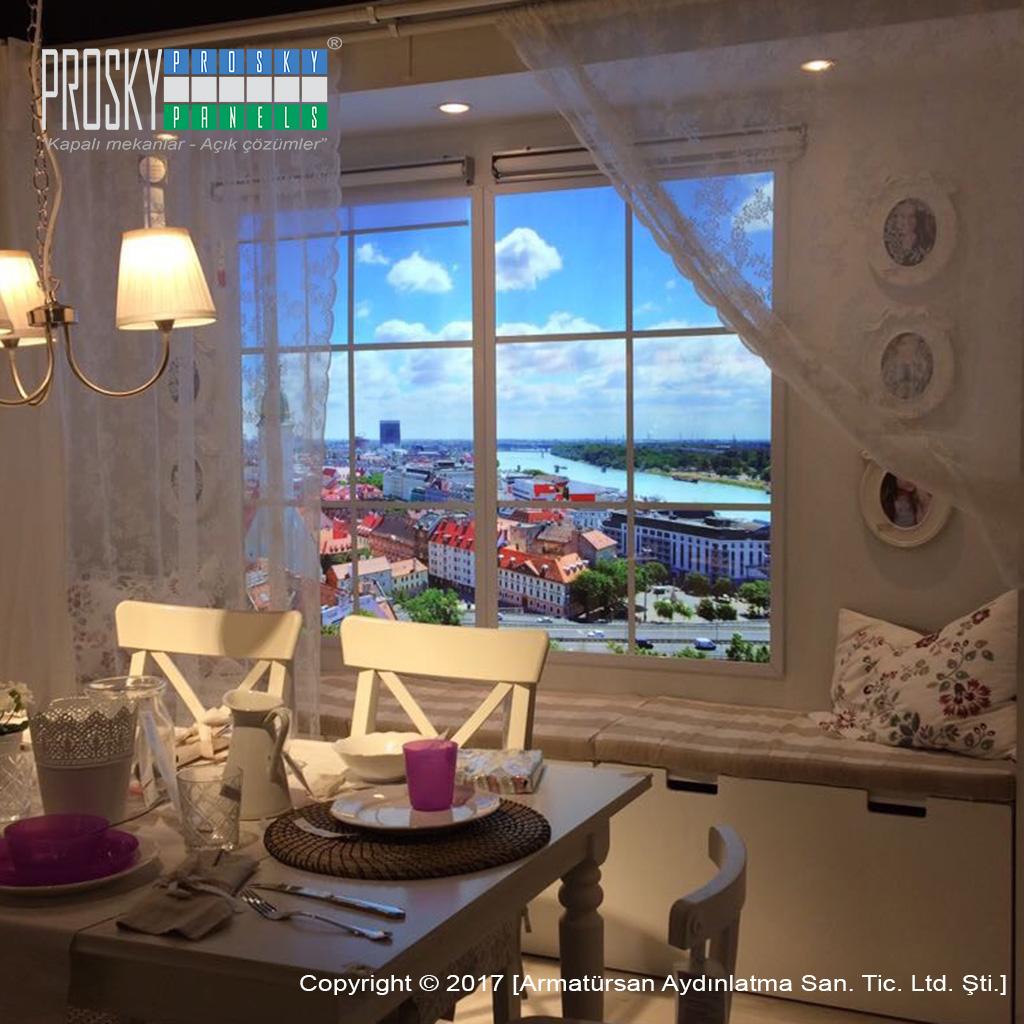 Fake Window Light Faux Window Artificial Window Prosky